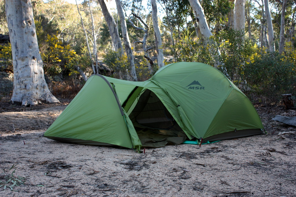 ... msr hubba hubba with msr gear shed | by ducktourer & msr hubba hubba with msr gear shed | My two person MSR Hubbau2026 | Flickr