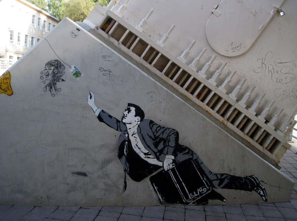 Money Money Or The Banknote Attraction Street Art Of Ta