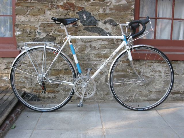 Raleigh Gran Sport Made Some Adjustments To My 73