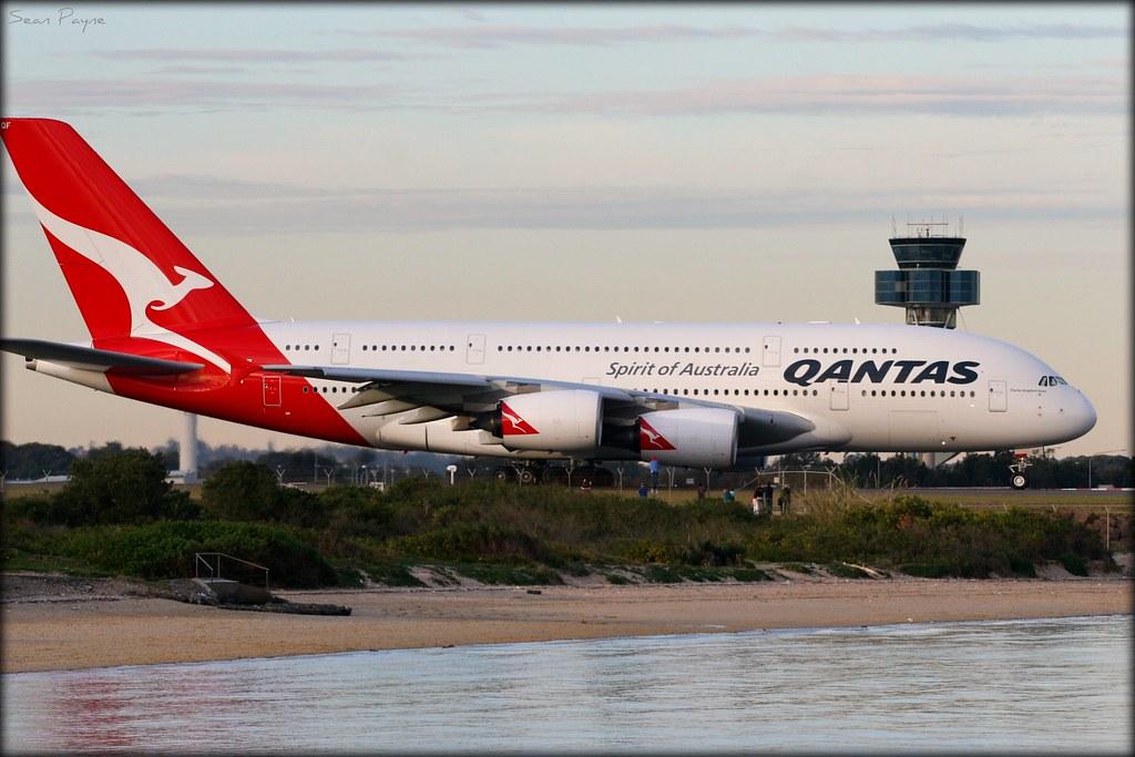 Qantas Airbus A380-842 VH-OQF 'Charles Kingsford Smith ...