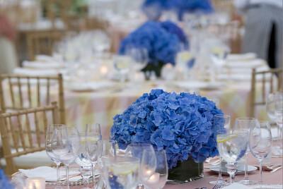 Blue Hydrangeas centerpieces   Flowers OMG   Flickr