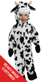 ... goodwilleasterseals Toddler cow ready-made Goodwill costume | by goodwilleasterseals  sc 1 st  Flickr & Toddler cow ready-made Goodwill costume | Dress your little u2026 | Flickr