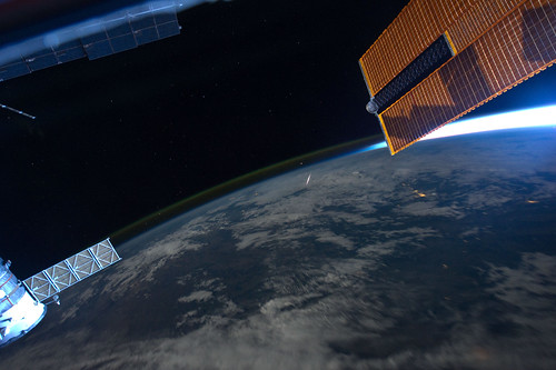 A Shooting Star in Space (NASA, International Space Station, 08/13/11) | by NASA's Marshall Space Flight Center