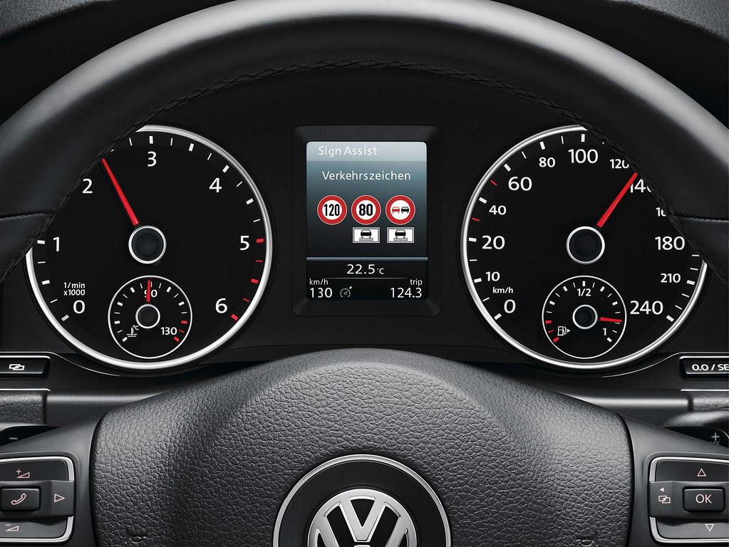 Volkswagen Tiguan (2011), verkeersbordherkenning | De vernie… | Flickr