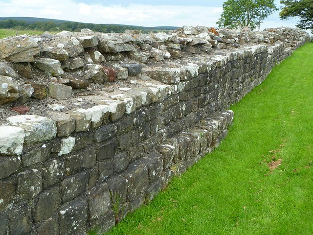 Curtain wall west of Birdoswald