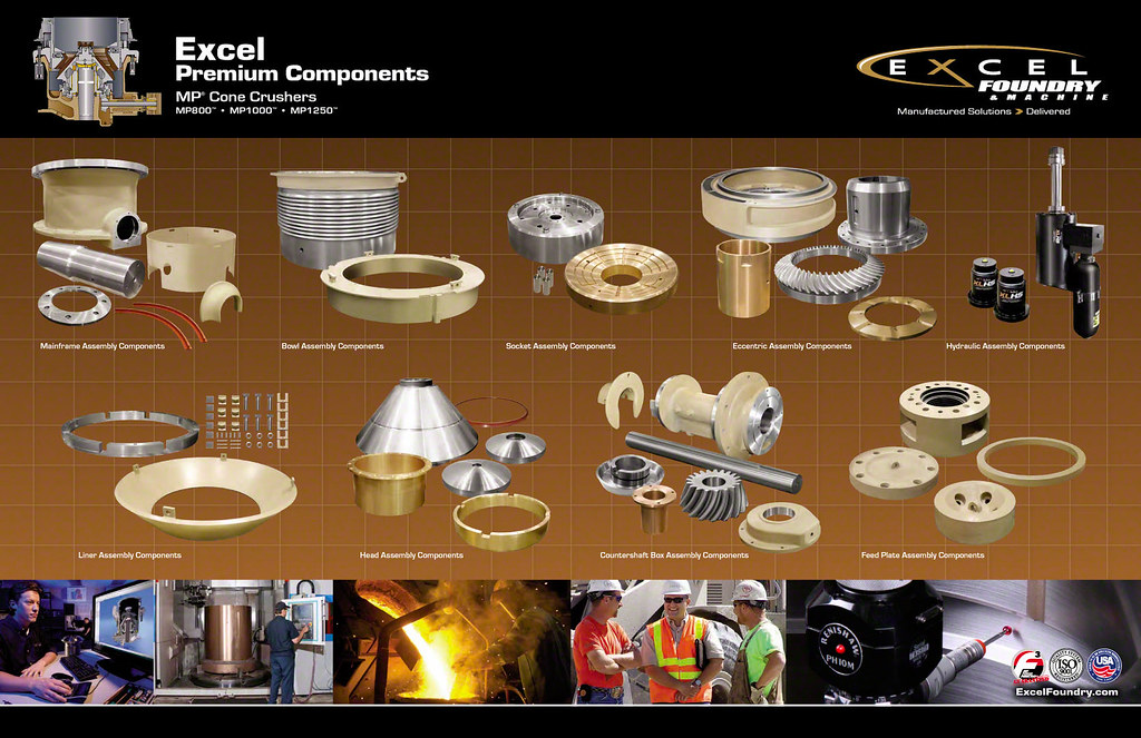 excel premium components for mp cone crushers hp mp a flickr