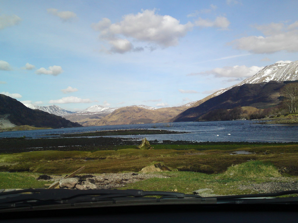 Loch Etive view | Looking up loch Etive from Taynuilt