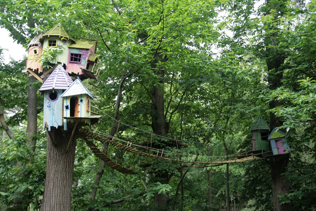bewilderwood the curious treehouse adventure park flickr