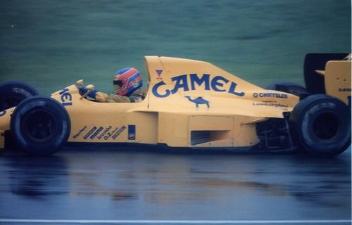 1990 F1 Canada Martin Donnelly In The Lotus Lamborghini Flickr