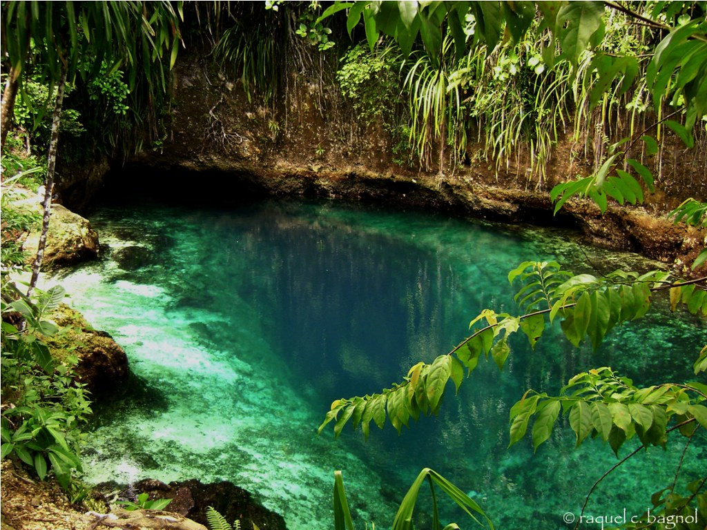 Enchanted River Hinatuan Surigao Del Sur Philippines Ontheraks Attempting To Be