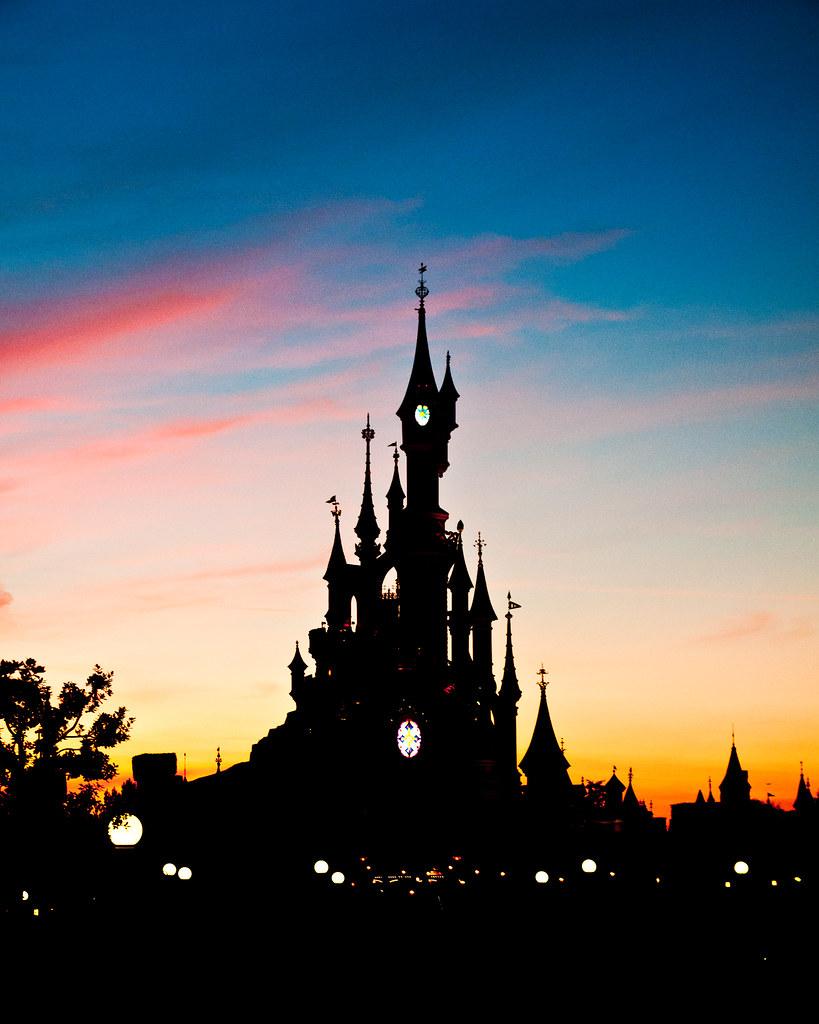 Disneyland Paris Silhouette The Centre Piece Of