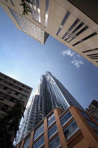 Beekman Tower_Frank Gehry_New York_2011_Look Up | by SteMurray