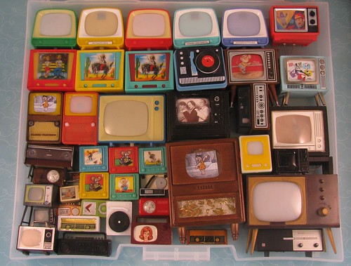 Miniature Tvs and radios Collection | by Retro Mama69