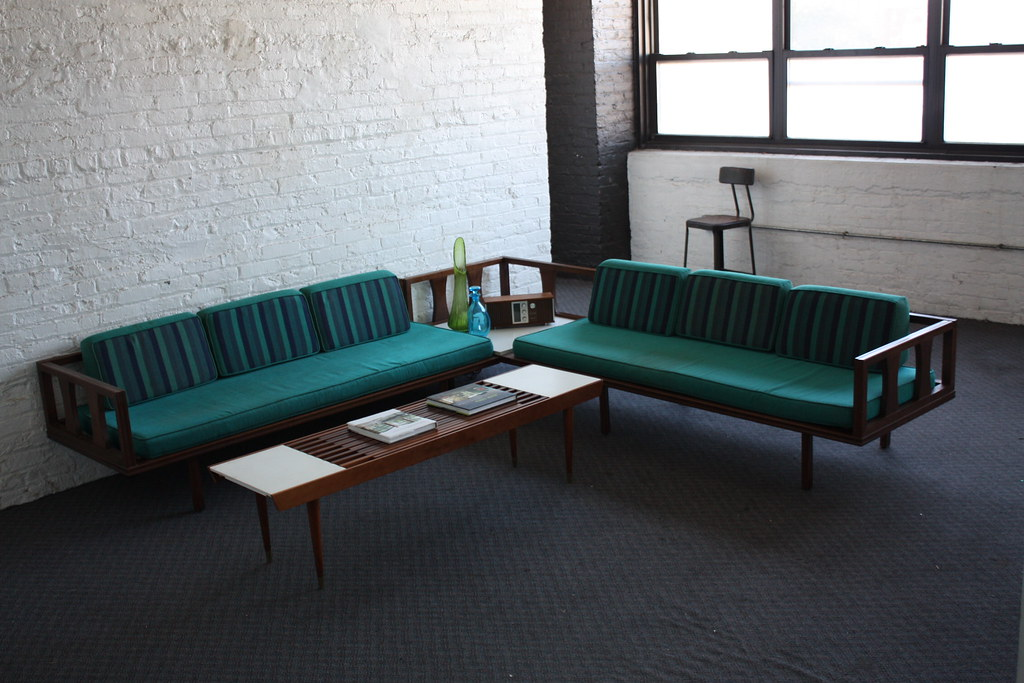 ... Danish Modern Mid Century Modern Sectional Daybed Sofa | By  Kennyk@k2modern.com