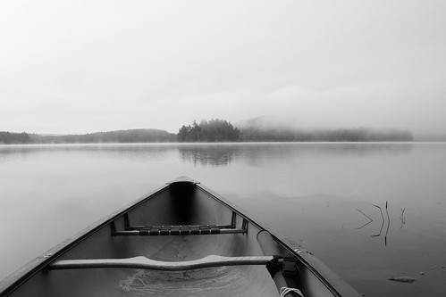 Canoeing in the Fog | by trouble4dan