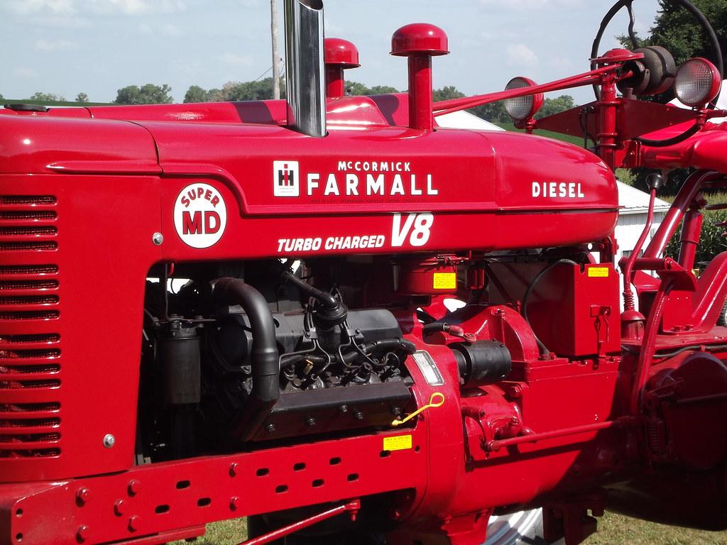 International Harvester Logo >> Farmall M | Rebuilt a M and put a 5.7 liter GM diesel with ...