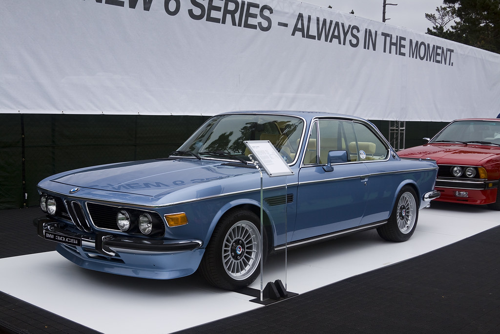 BMW 30CSi The Elegant Street Car Ancestor Of Those