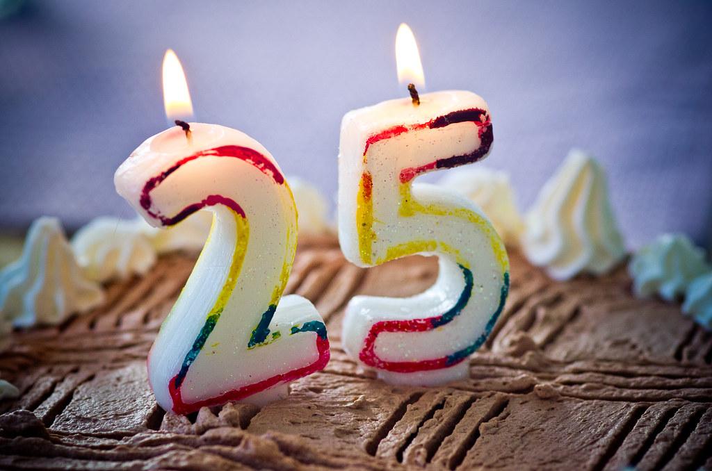 Joyeux Anniversaire 25 Ans