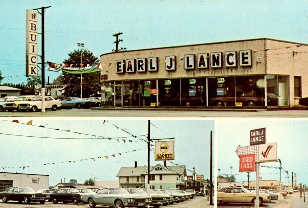 Earl J Lance Buick Gmc Elyria Oh 1972 165 Cleveland