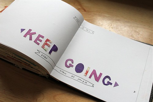 keep going | by katie licht