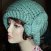 Seafoam Green Hat