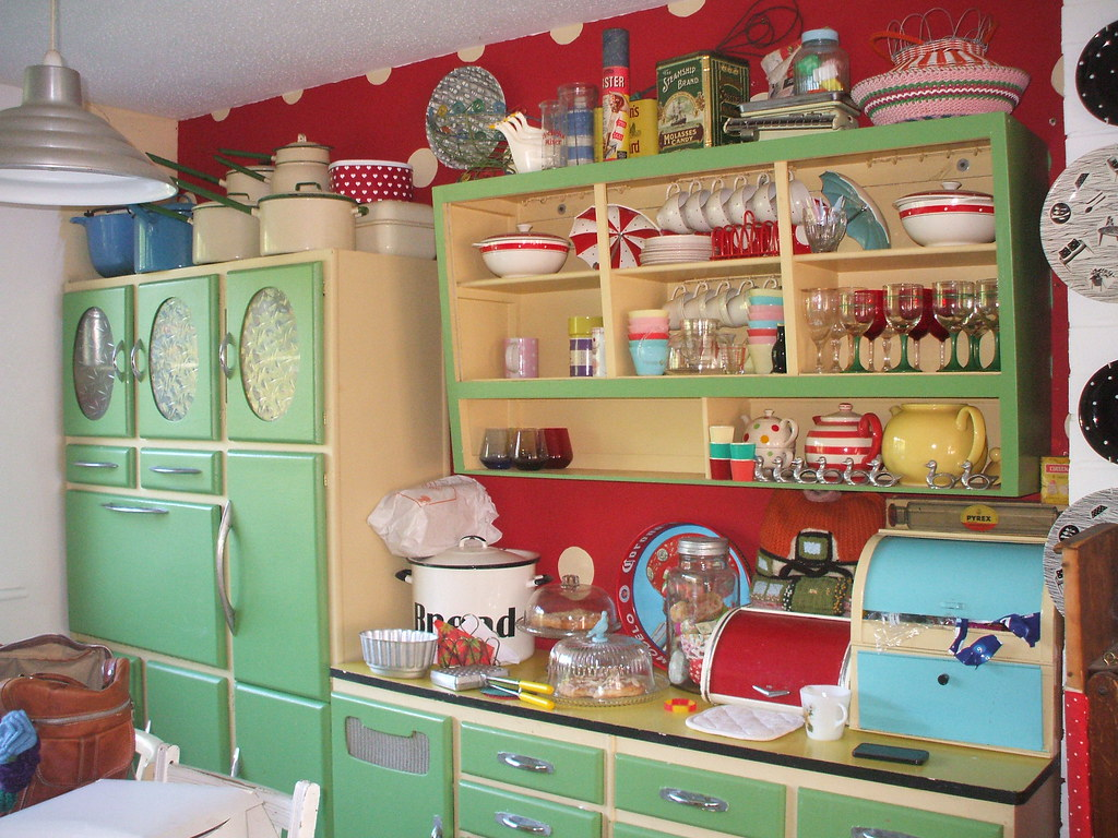 1930 kitchen design. Whitney\u0027s Kitchen, 50s Style | By The Vintage Cottage 1930 Kitchen Design