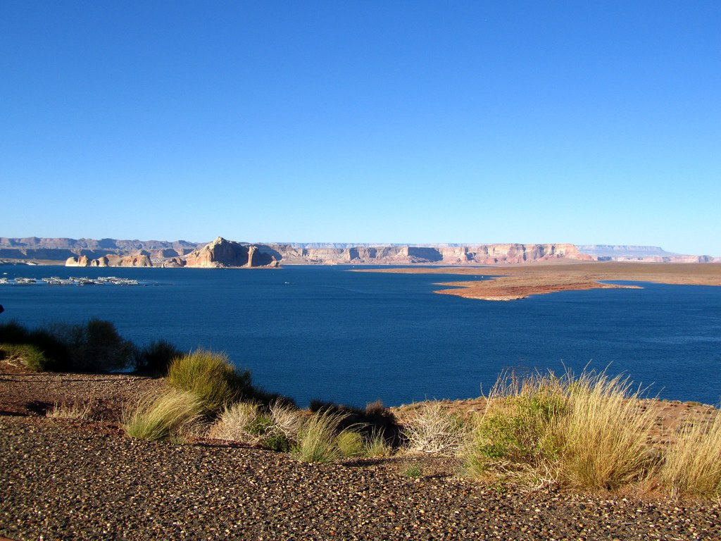 Lake Powell near Page, Arizona