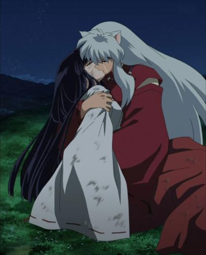 Kiss Inuyasha And Kikyo
