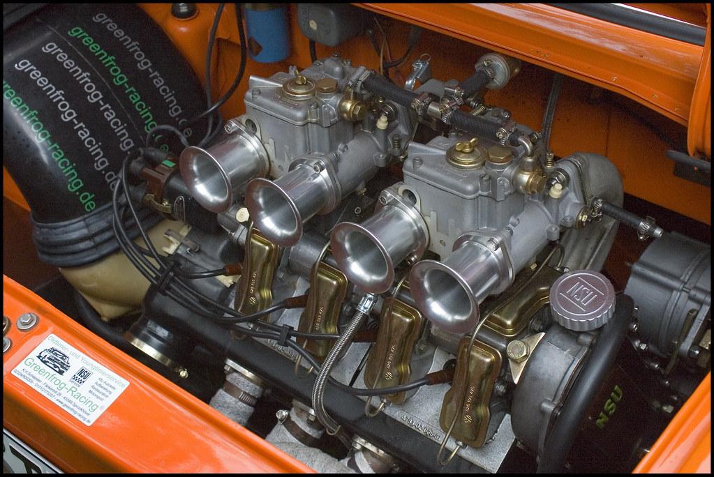 nsu tt engine weber doppelvergaser twin carburetors. Black Bedroom Furniture Sets. Home Design Ideas