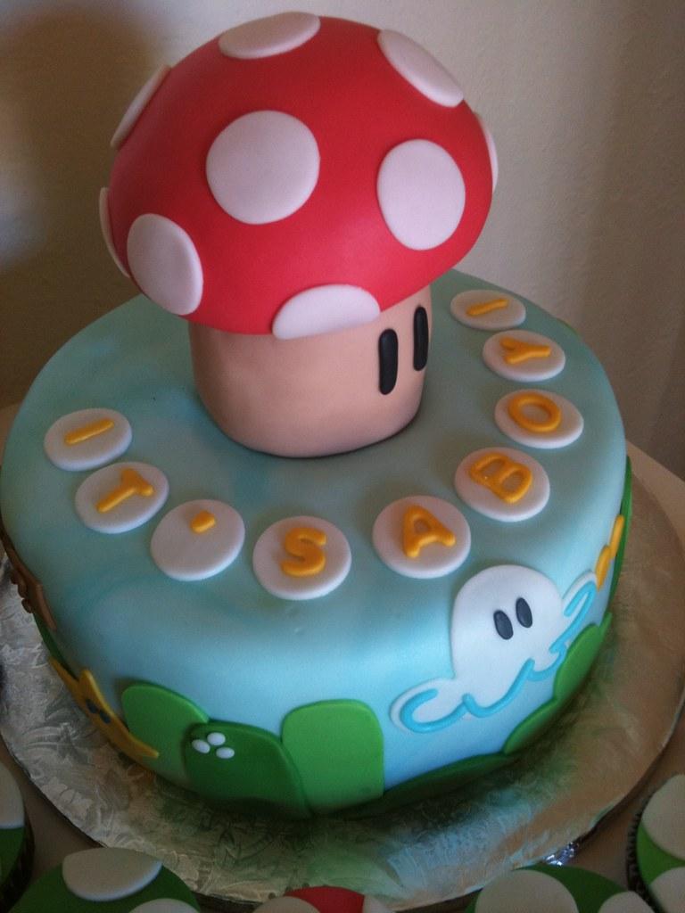 Its A Boy Super Mario Baby Shower Cake Dmanlan Flickr