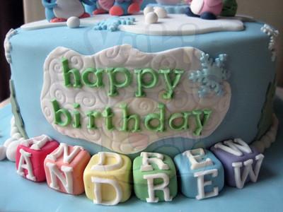 Andrew Birthday Cake
