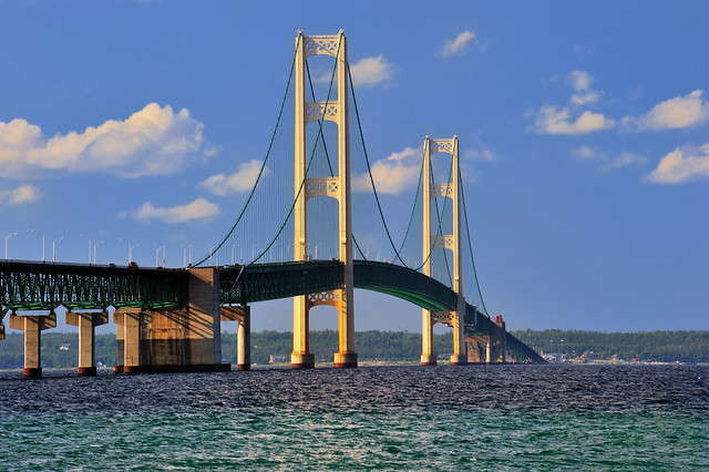 Mackinac Bridge Mackinaw City Michigan Flickr Photo Sharing