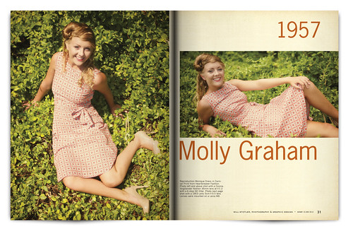Vintage Magazine Spread Design Project - Pgs. 30 & 31 | by willstotler