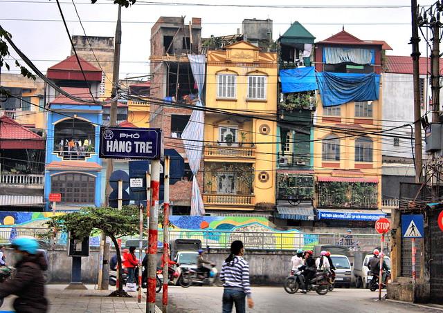 Tube Houses In The Old Quarter Hanoi Flickr Photo