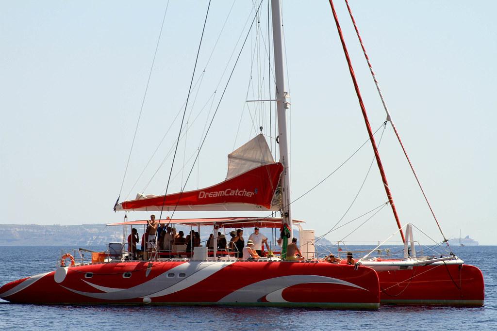 Dreamcatcher Santorini Greece Jo Anne Richardson Flickr Cool Dream Catcher Boat Santorini