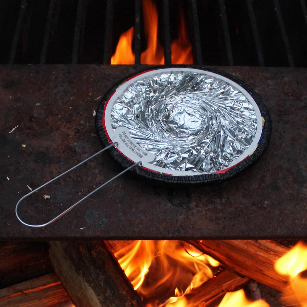 Danger Jiffy Pop On Open Campfire Ingredients Popcorn