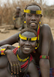 Dassanetch girls - Omorate Ethiopia | by Eric Lafforgue