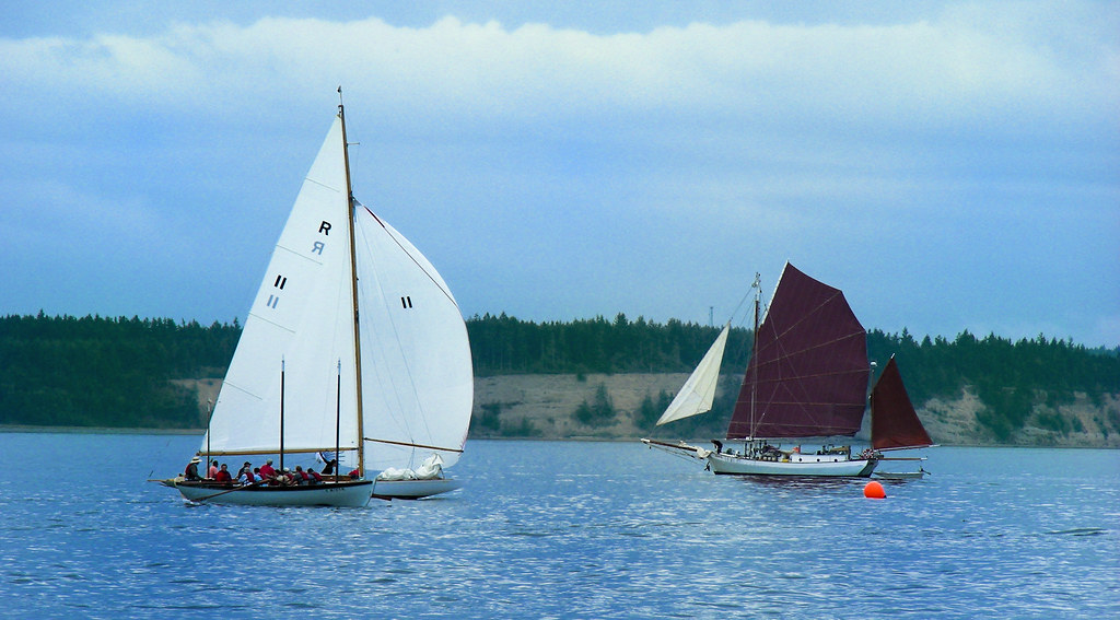 Junk-rigged Yawl | The 2010 Port Townsend's Wooden Boat Fest
