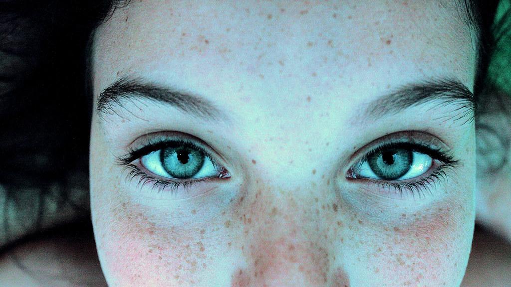 ice-blue eyes | I wish I was the last thing on your mind ... Human Ice Blue Eyes