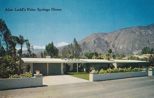 Alan Ladd's Home Palm ...