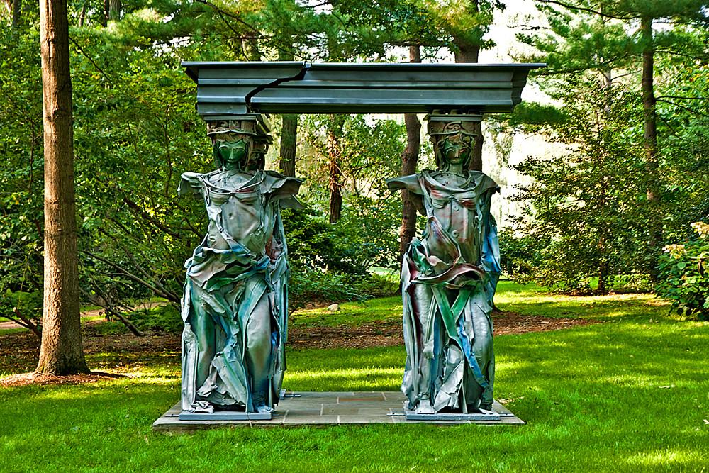 Pepsico Sculpture Garden-Judith Brown-Caryatids   Erik Anestad   Flickr