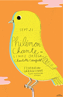 PHILEMON CHANTE poster | by Ohara.Hale