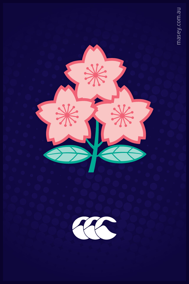 Rugby Japan IPhone Wallpaper