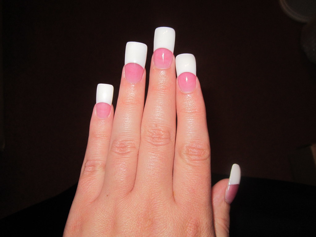 Acrylic Nails for 9-13-2011 | Left hand top. Kept the length… | Flickr