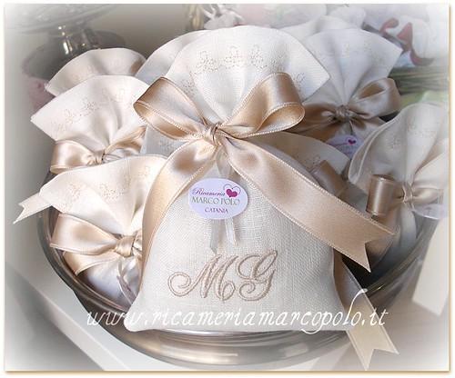 Eccezionale Matrimonio e dintorni: si parla di bomboniere, sacchettini  XS62