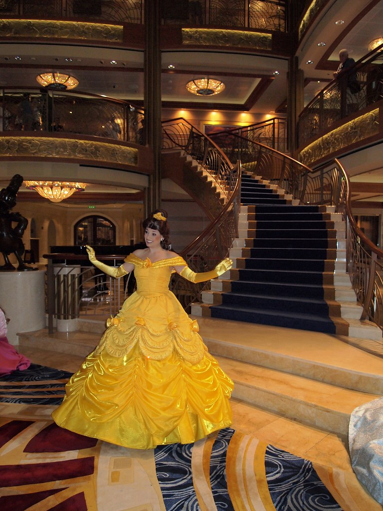 Princess Belle Character From Beauty And The Beast On Disn