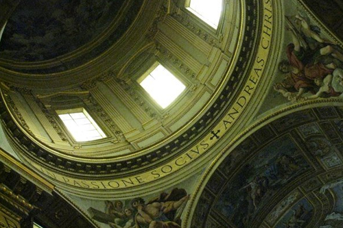 Inside the cupola, Sant'Andrea della valle in Rome © ROH 2011 | by Royal Opera House Covent Garden