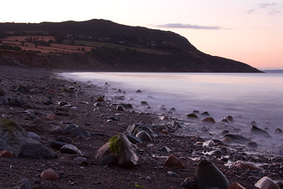 Dusk at North beach Greystones | by Canon Queen Rocks (1,670,000 + views)