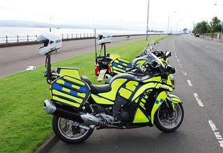 STRATHCLYDE POLICE, KAWASAKI | by Time Out Images