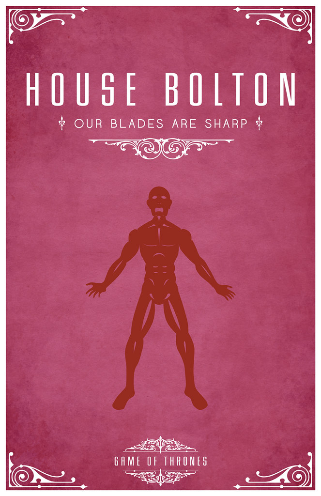 House Bolton | House Bolton Sigil - A Flayed Man Motto ...